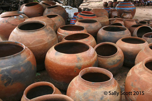 Limpopo is famous for it's beautiful clay African pots